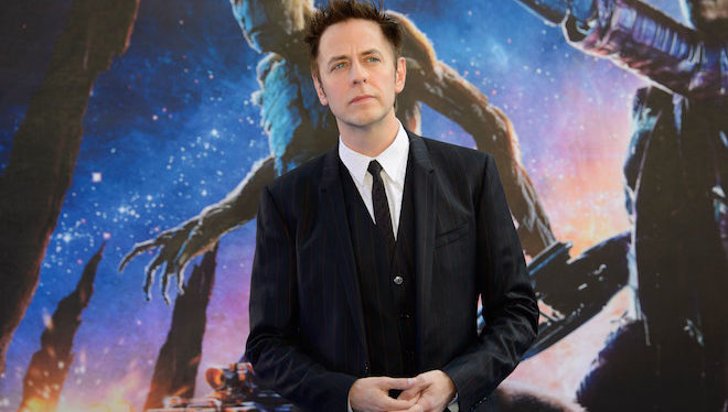 James Gunn arrives for the European Premiere of Guardians Of The Galaxy at a central London cinema, Thursday, July 24, 2014. (Photo by Jonathan Short/Invision/AP)