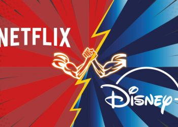 Guerra del streaming Netflix vs Disney Plus