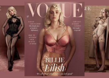 ¡Wow! Billie Eilish protagoniza la portada de British Vogue